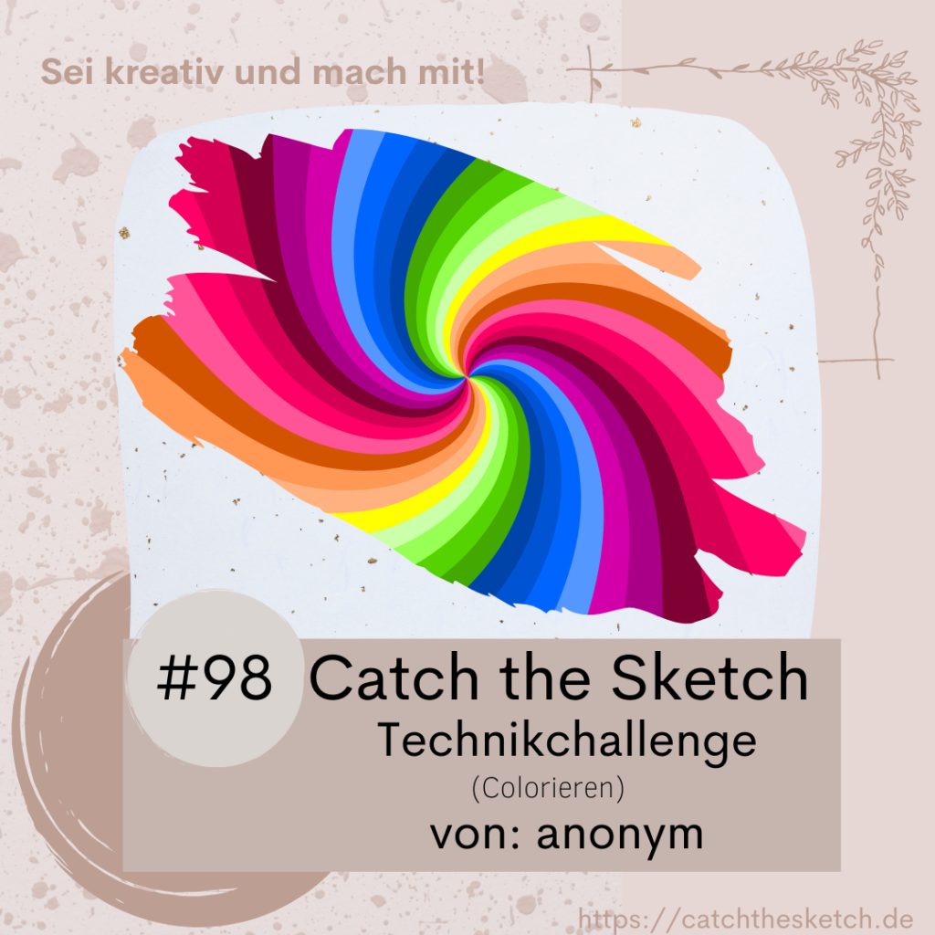 Catch the Sketch #98 Technikchallenge: Colorieren Werbebild